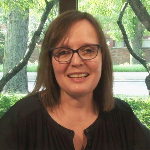 Recent graduate Allison Hall