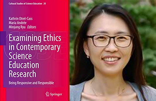 Dr. Minjung Ryu and Her Book